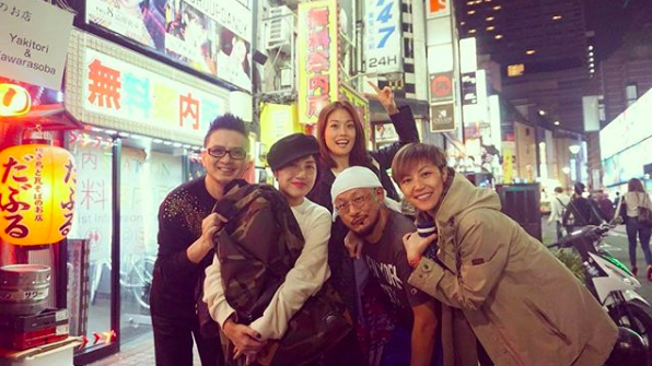 Joey Yung Denise Ho Anthony Wong Miriam Yeung Tokyo Reunited_Instagram