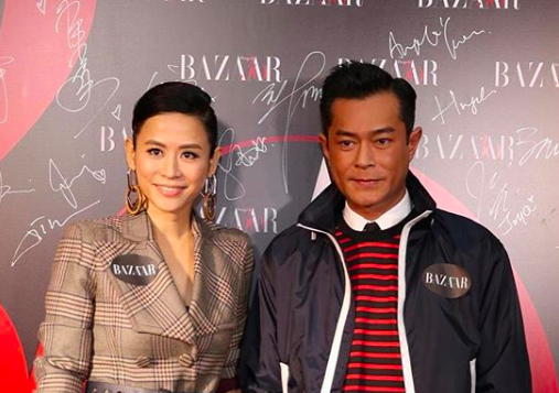 Louis Koo and Jessica Hsuan Couldn't Control Their Laughter Talking About Louis Koo's Birthday Tradition