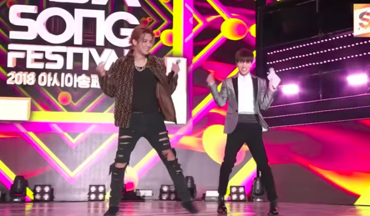 Show Luo Super Junior Lee Teuk 2018 Asia Song Festival