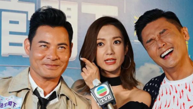 """Grace Wong Feels Like the Third Party Between Eddie Kwan and Ben Wong in """"OMG, Your Honour"""""""