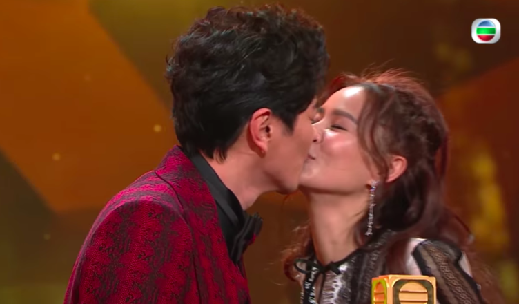 Edwin Siu Steals the Thunder by Thanking His Wife, Priscilla Wong, at the TVB Anniversary Awards Show