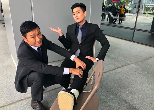 """Bosco Wong Resumes Filming """"Flying Tiger II"""" After Surgery on Injured Foot"""