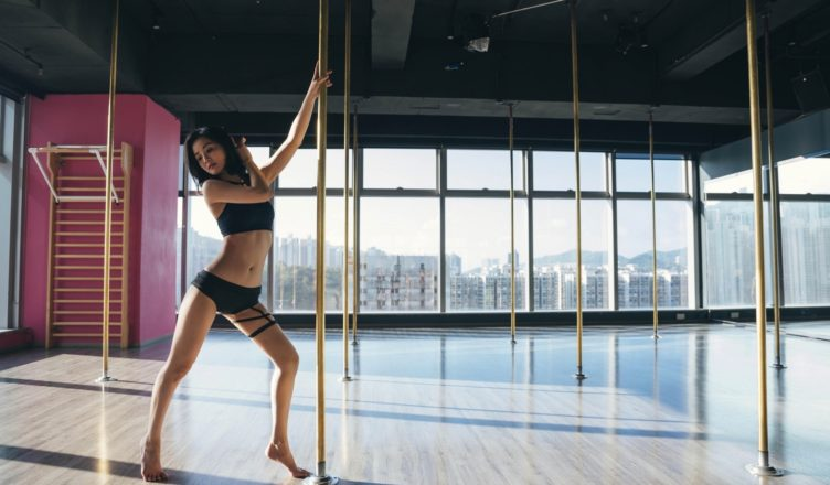 """Charlene Choi Learns to Pole Dance for """"The Lady Improper"""""""