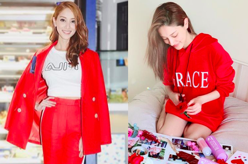 Grace Chan Resumes Working After Giving Birth Less than Two Weeks Ago Instagram2_02.28.19