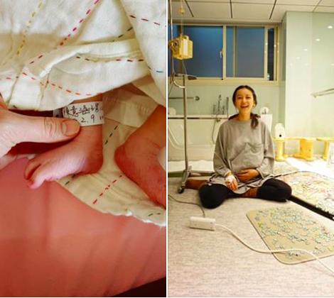 Ivy Chen Gives Birth to Son