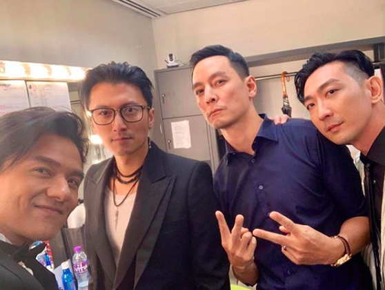 """Daniel Wu Reunites with Miriam Yeung and Cast of """"Gen-X Cops"""" at the Hong Kong Film Awards"""