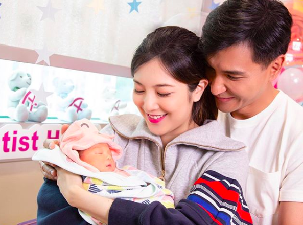 Phoebe Sin and Ruco Chan Announce Birth of Daughter