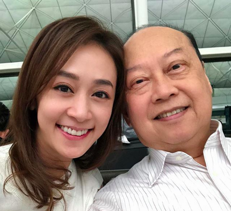 Scarlett Wong Once Eluded to Her Father Having Extramarital Affairs