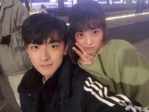 """Xing Fei's Ideal Type is """"Gu Weiyi"""" in """"Put Your Head On My Shoulder"""""""