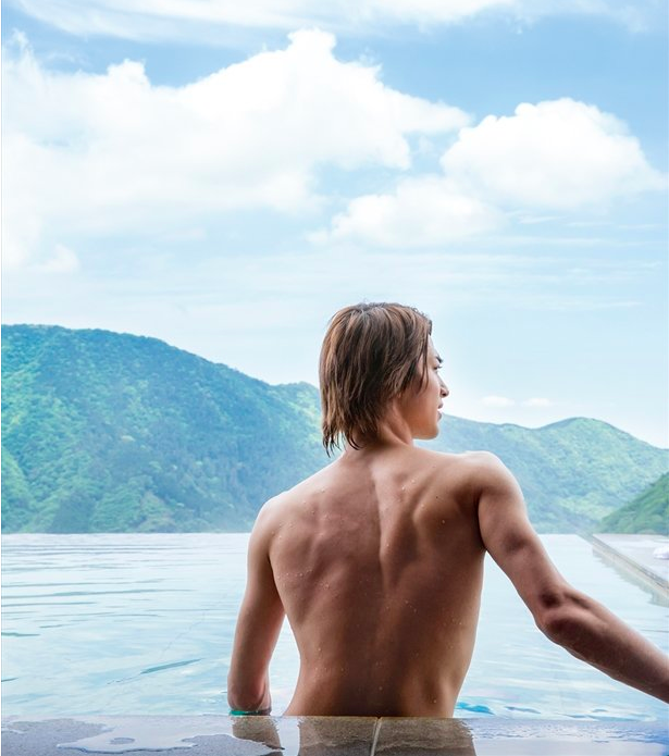 Ryusei Yokohoma Teases Fans with Topless Picture from Upcoming 2020 Calendar