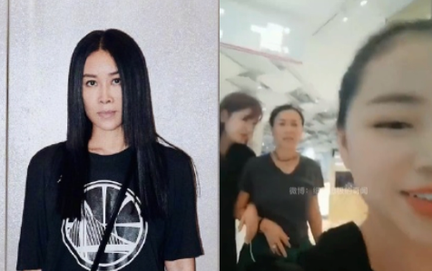 Chinese Veteran Singer, Na Ying, Suspected of Kicking a Person Secretly Filming Her