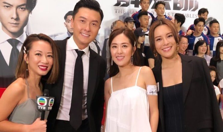 """Natalie Tong and Vincent Wong Wouldn't Talk to Each Other while Filming """"The Man Who Kills Troubles"""""""