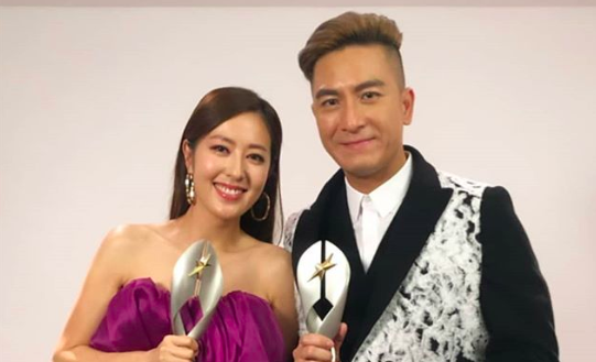 Kenneth Ma and Natalie Tong Win Best Male and Female Artist at 2019 StarHub TVB Awards