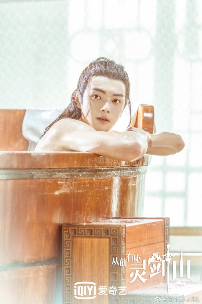 """Watch """"Once Upon a Time in Lingjian Mountain"""" if You Want to See Xu Kai Shirtless and Cross Dress"""