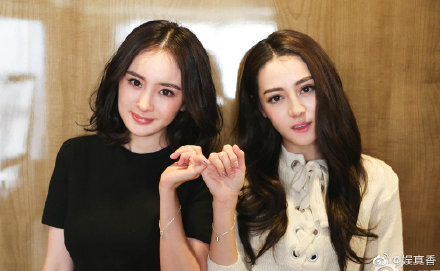 Yang Mi and Dilraba are Friendship Goals