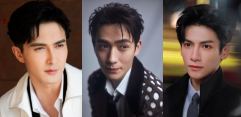Asian Male Celebrities with Brows on Fleek
