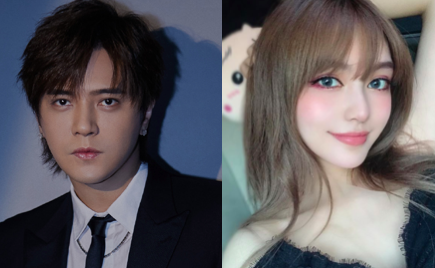 Show Luo Parties with Busty Females Amidst Break Up Rumors with Girlfriend, Grace Chow