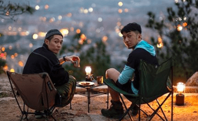 """Pakho Chau and Benjamin Yuen Go Camping in """"The PakhoBen Outdoor Show"""""""