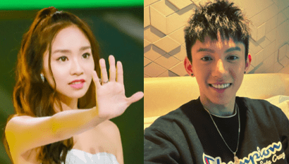 """Produce 101 China Trainee, Kimberley Chen, Seemingly Admits to Dating """"All For One"""" Trainee, Albert Lin"""