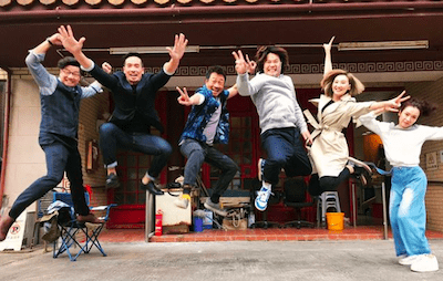"""Wayne Lai and Moses Chan are Hitmen in TVB's """"Death By Zero"""""""