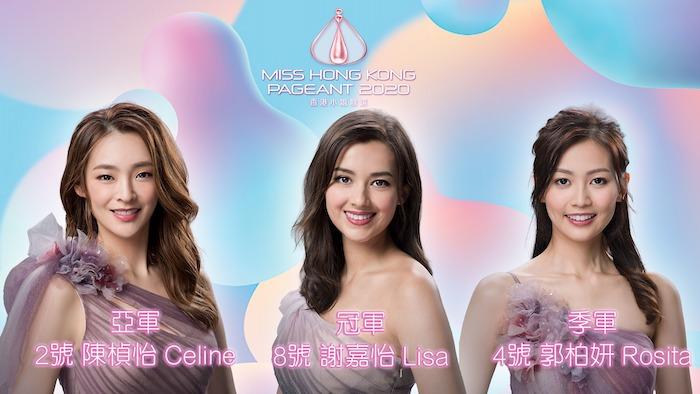 2020 Miss Hong Kong Winners List