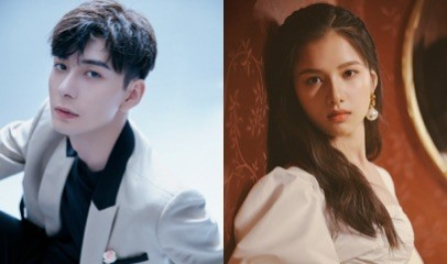 """Chen Xingxu Sparks Dating Rumors with """"Fall in Love"""" Co-star, Zhang Jingyi, After He was Allegedly Spotted Coming Out of Her Hotel Room"""