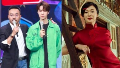 """Wang Han Reacts to Jin Xing Saying She Wouldn't Know Wang Yibo Had it Not Been for """"Day Day Up"""""""