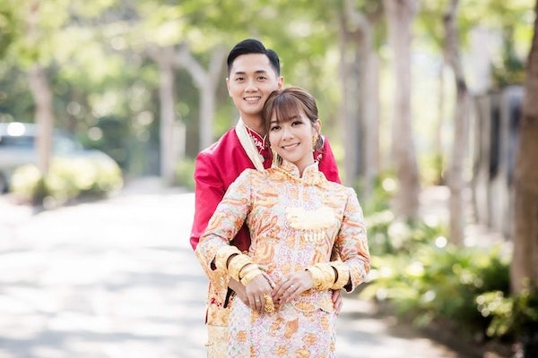 Fred Cheng and Stephanie Ho Tie the Knot