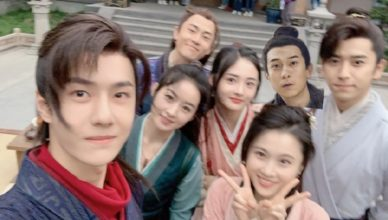 Cast Rallies Support for Wang Yibo's New Song for Legend of Fei OST After it Trends for Sounding Bad