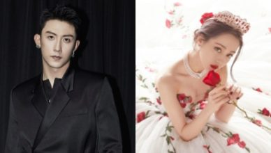 Fans Clarify Rumors Johnny Huang Jingyu Visited Dilraba on You Are My Glory Film Set