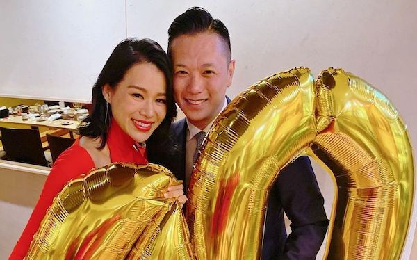 Myolie Wu's Husband Proposed to Her After 3 Months of Dating