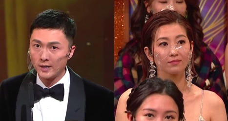 Vincent Wong Thanks Wife, Yoyo Chen, in Acceptance Speech at 2020 TVB Anniversary Awards