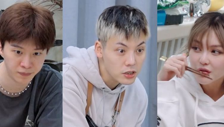 Grace Chow Shocks William Chan and Fan Chengcheng When She Reveals She Can Go a Week Without Washing Her Hair