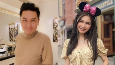 Eddie Kwan Doesn't Mind Portraying a Couple with Miss Hong Kong 2021Contestant and Daughter, Fabienne Kwan