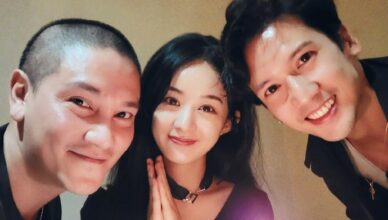 Zanilia Zhao Liying Gets Early Birthday Celebration from Allen Ting and Kenny Kwan